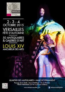 fête automne antiquaires et galeries de Versailles