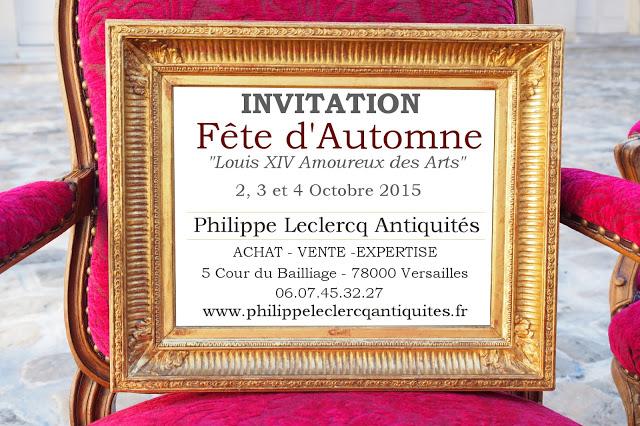Invitation F_te d'automne Versailles
