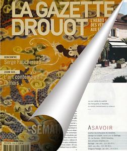 La gazette Drouot parle des antiquaires et galeries du Bailliage