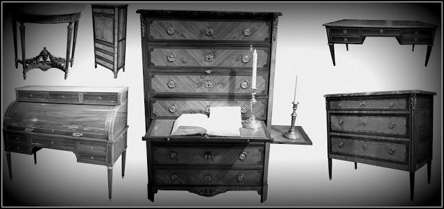 bandeau nouveau meubles Louis xvi