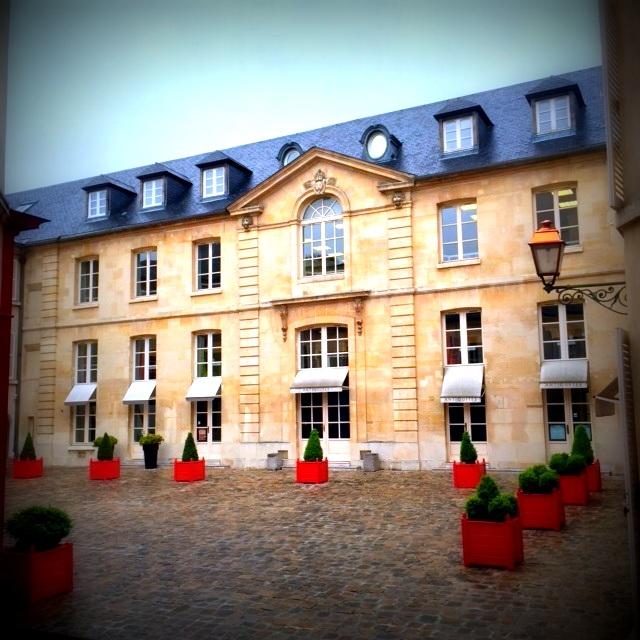 Cour du Bailliage à Versailles