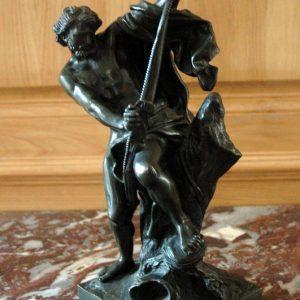 Bronze Hercule d'après Jacques Bousseau