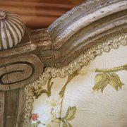 Canapé corbeille Louis XVI