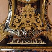 Cartel polychrome Louis XV
