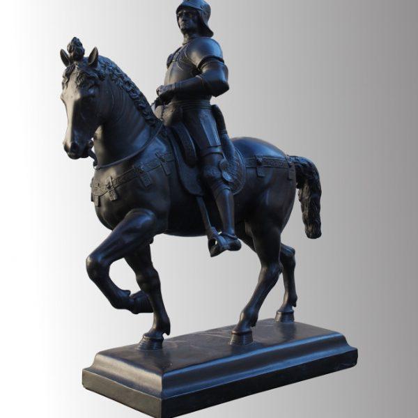 Cavalier en bronze