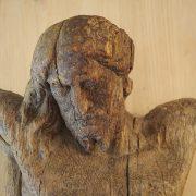Sculpture christ en ivoire