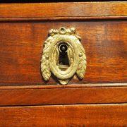 Commode demi-lune Louis XVI
