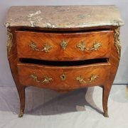 Commode estampillée wirtz d'époque Louis XV