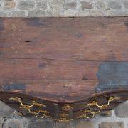 Commode ouvrant par 3 tiroirs d'époque Régence