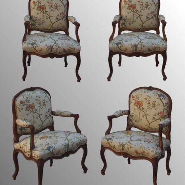 Essemble 4 fauteuils