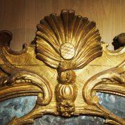 Important miroir Régence