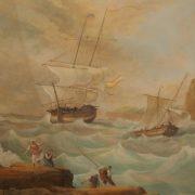 Gouache esprit Delacroix
