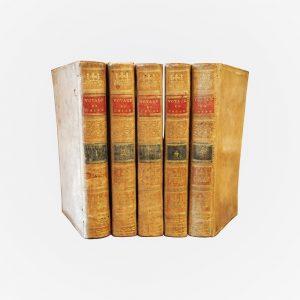 """Suite de 5 tomes avec plans et cartes """"Voyage en Chine"""""""