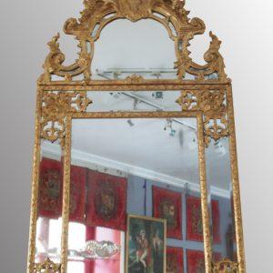 Miroir à par-closes époque Régence