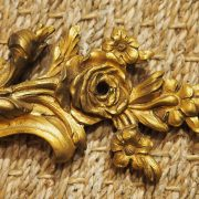 Paire d'appliques en bronze doré