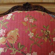 Larges fauteuils à dossiers plats époque Louis XV