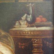 Paire de tableaux signés Challe