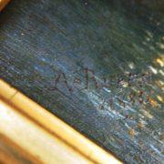 Paire de tableaux signés Rueff