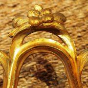Ravissant petit Cartel d'époque XVIIIème en bronze