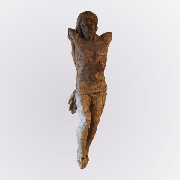 Sculpture christ en ivoire