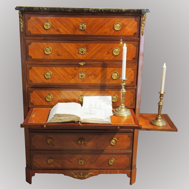 Semainier d 39 poque louis xvi estampill j birckle for Bureau a acheter