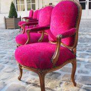 Suite de 6 fauteuils d'époque Louis XV estampillés