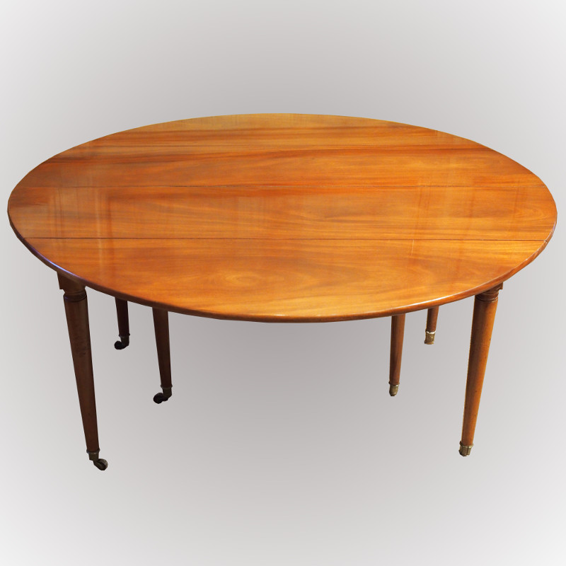 table de salle manger en acajou de cuba. Black Bedroom Furniture Sets. Home Design Ideas