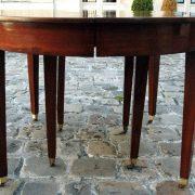Table de salle à manger en acajou de Cuba