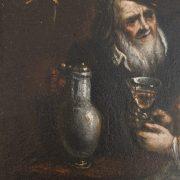 scène de taverne datant du 18ème siècle