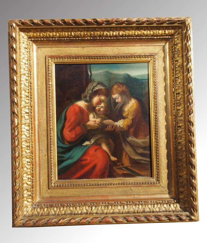 Tableau Repr 233 Sentant La Vierge 224 L Enfant