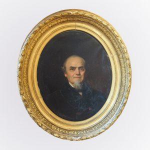 Tableau représentant le portrait de Lucien Fromage