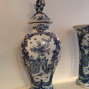 Garniture en faïence de Delft d'époque 18ème