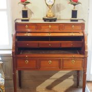 Bureau à cylindre d'époque Régence