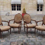 Fauteuils d'époque Louis XVI