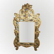 Glace d'époque Louis XV