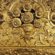 Glace parisienne d'époque Régence