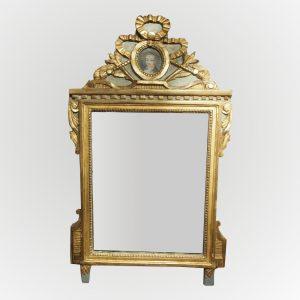 Glace d'époque Louis XVI