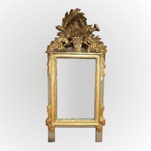 Petit miroir Louis XVI