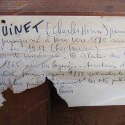 Huile sur toile signée par Charles Henri QUINET