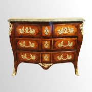 Commode de salon d'époque Louis XV estampillée JB Fromageau