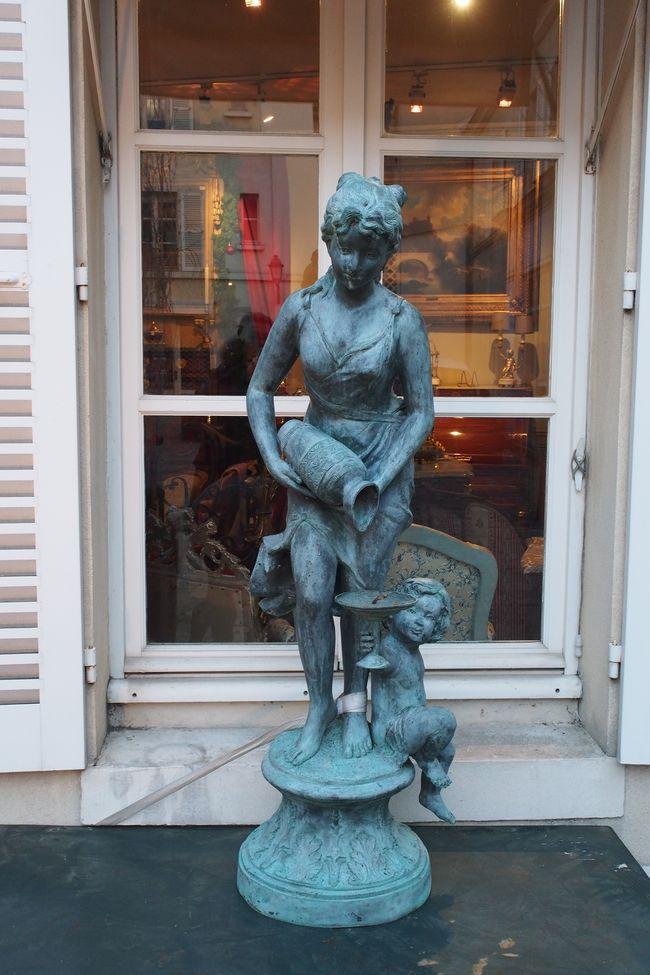 statue-bronze-cour-du-bailliage