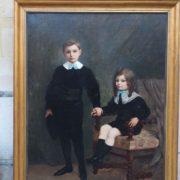 Importante huile sur toile signée Fred LAUTH