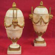 Paire cassolettes Louis XVI (1)