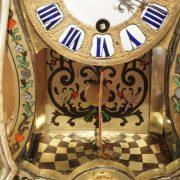 Petit cartel d'alcôve en marqueterie Boulle d'époque Louis XV (1)