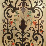 Petit cartel d'alcôve en marqueterie Boulle d'époque Louis XV (11)
