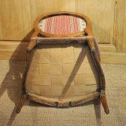 Suite de 4 larges fauteuils d'époque Louis XVI