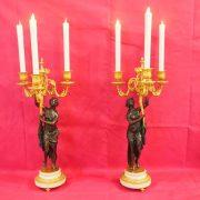 paire candélabres bronze (1)