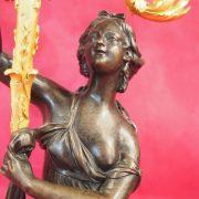 paire candélabres bronze (3)