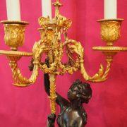 paire candélabres bronze (5)