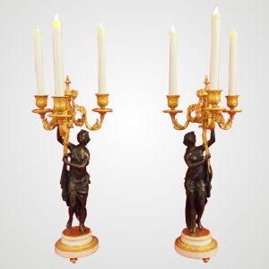 paire-candelabres-bronze